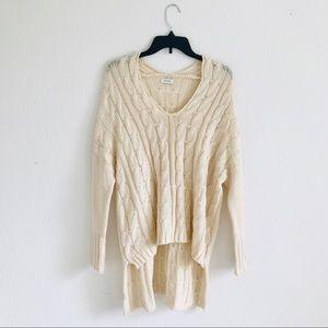 High low Sheinside oversized sweater